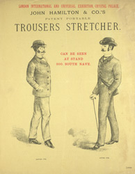 Advert For John Hamilton & Co.'s Trouser Press